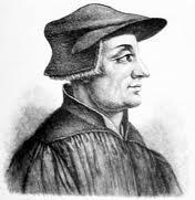 NACE ZUINGLIO (1484+1531), REFORMADOR SUIZO.