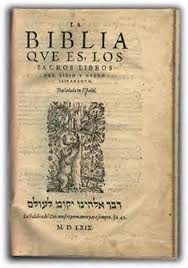 """PRIMERA EDICIÓN DE LA """"BIBLIA DEL OSO"""""""